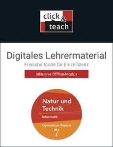 66020 click & teach 7 Box: Informatik
