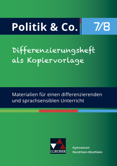 71087 Differenzierungsheft als Kopiervorlage 7/8